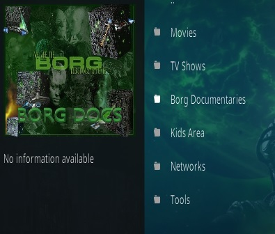 How To Install Borg Kodi Addon New URL Overview