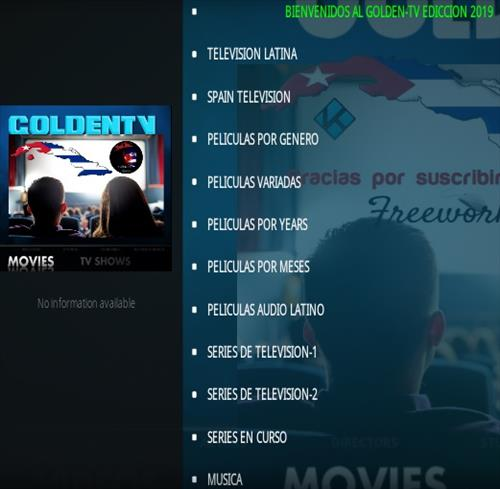 How To Install Golden TV Kodi Addon Overview