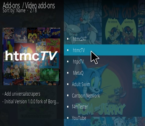 How To Install HTMC TV Kodi Addon Step 17