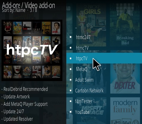 How To Install HTPC TV Kodi Addon Step 17