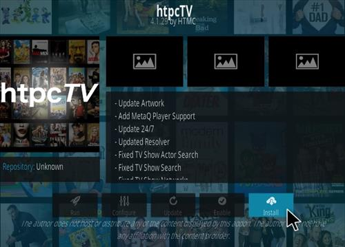 How To Install HTPC TV Kodi Addon Step 18