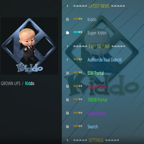 How To Install Kiddo Kodi Addon Updtaed V60 Overview