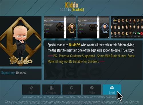 How To Install Kiddo Kodi Addon Updtaed V60 Step 18