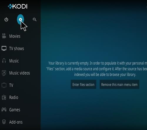How To Install Kodi 18 Leia Addon Step 1