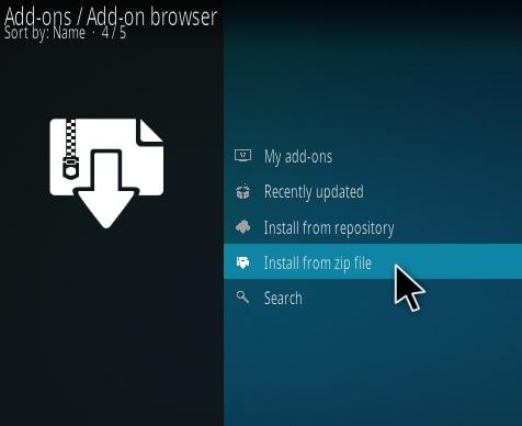 install Numbers Addon Kodi 8