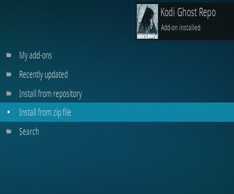 How To Install Kodi Ghost IPTV Addon Step 13