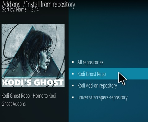 How To Install Kodi Ghost IPTV Addon Step 15