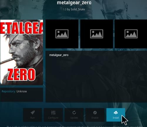 How To Install Metal Gear Zero Kodi Addon Step 18