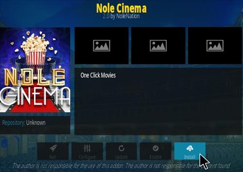 How To Install Nole Cinema Kodi Addon Step 18
