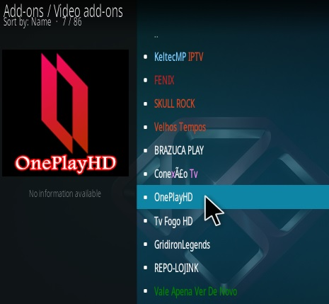 How To Install One Play HD Kodi Addon Step 17