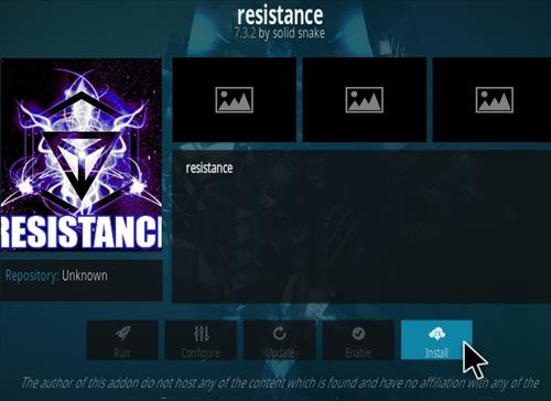 How To Install Resistance Kodi Addon New V 732 Step 18