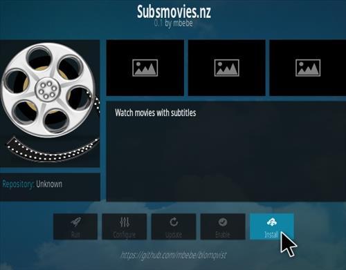 How To Install SUBMOVIES Kodi Addon Step 18