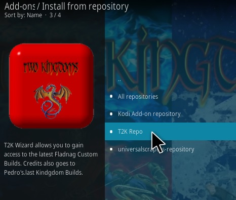 How To Install Whisky One Kodi Addon Step 15