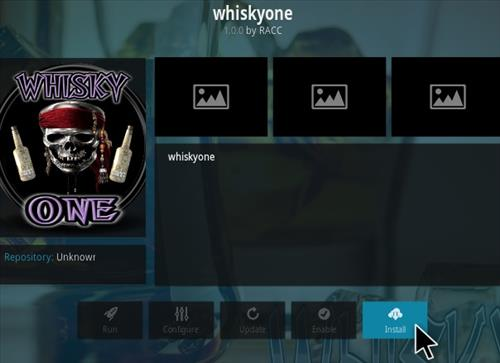How To Install Whisky One Kodi Addon Step 18