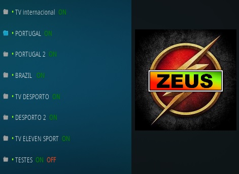 How To Install Zeus Live TV Kodi Addon updated Overview
