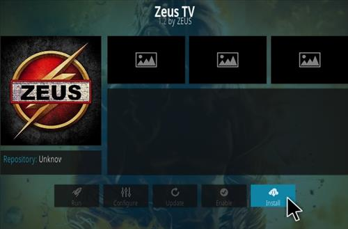 How To Install Zeus Live TV Kodi Addon updated Step 18