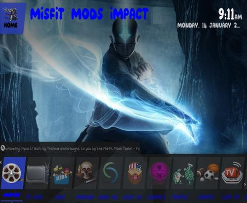 How to Install Impact Kodi Build Screenshot 1