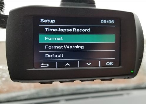 Review AUKEY DR03 HD 1080p Dual Dash Cams Format Card