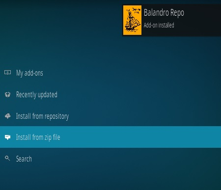 How To Install Balandro IPTV Kodi Spanish Addon Step 13