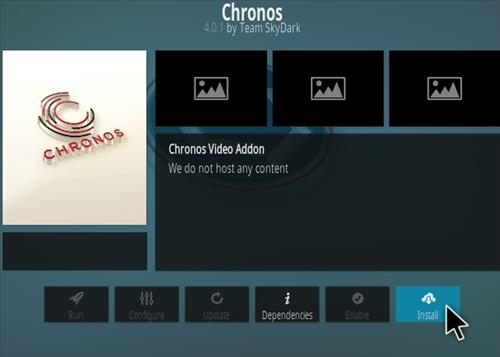 How To Install Chronos Kodi Live TV Addon 2019 Step 18