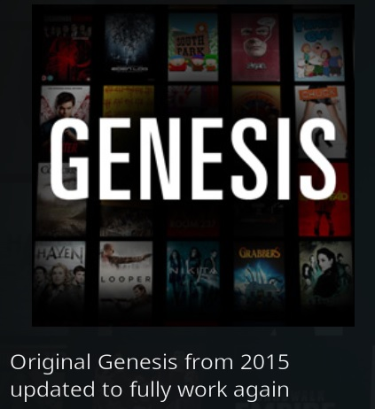 How To Install Original Genesis Kodi Addon