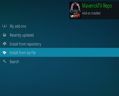 How to Install Maverick TV Kodi Addon New Version 38 Step 13