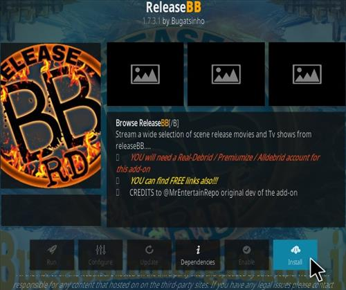 How to Install Release BB Kodi Addon Updated 2019 Step 18