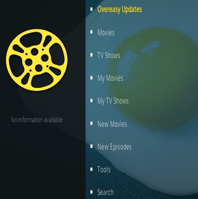 Steps To Install Overeasy Kodi Addon Overview