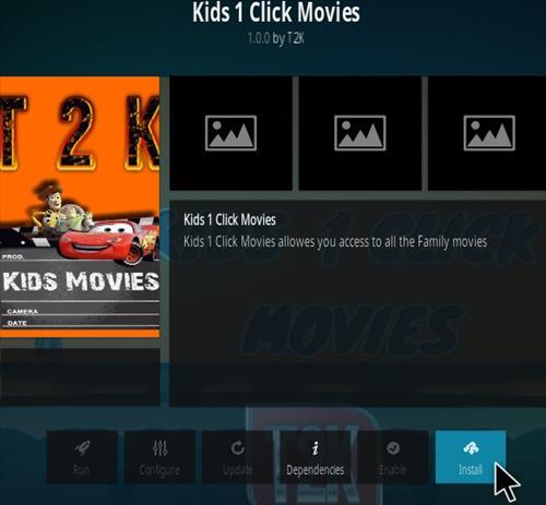 How To Install 1-Click Kids Kodi Addon Step 18