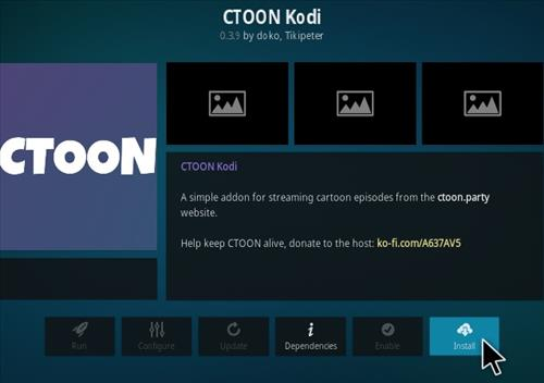 How To Install Ctoon Kodi addon Step 18