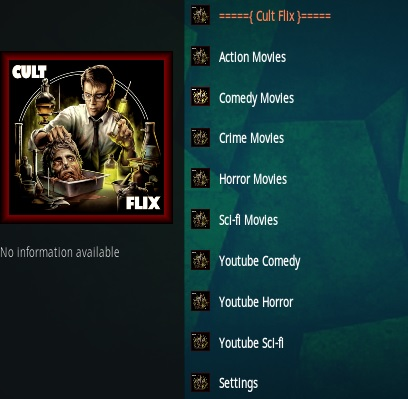 How To Install Cult Flix Kodi Addon Overview