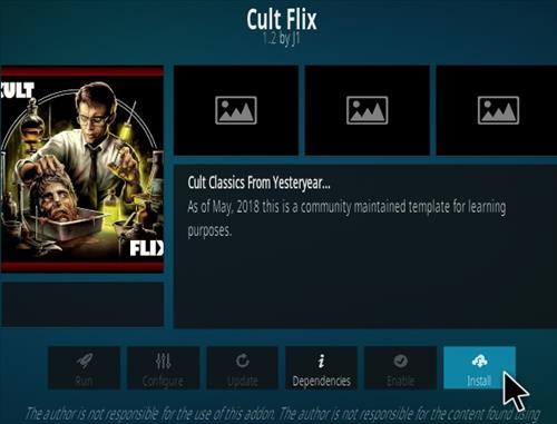 How To Install Cult Flix Kodi Addon Step 19