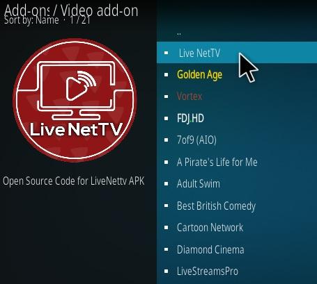 How To Install Live Net TV Kodi Addon   WirelesSHack