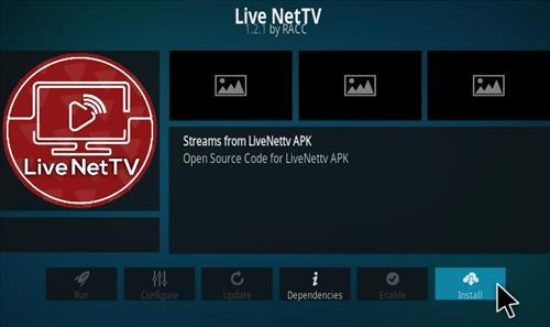 How To Install Live Net TV Kodi Addon Step 19