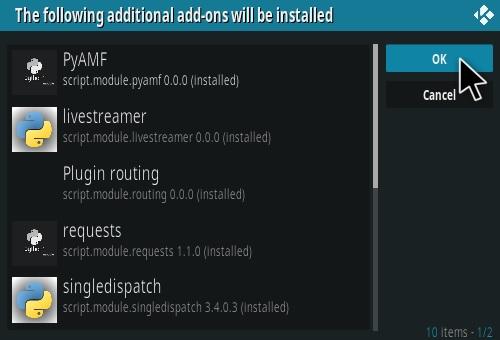 How To Install Live Net TV Kodi Addon Step 20