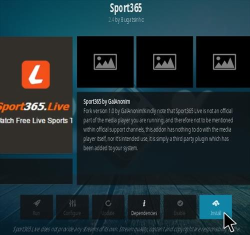 How To Install Sport 365 Live Kodi Addon Updated Step 18