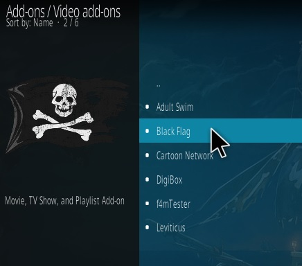 How To Install The Black Flag Kodi Addon Step 17
