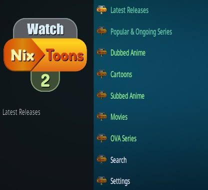How To Install Watch Nixtoons 2 Kodi Add-on Overview