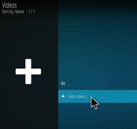 How To Use Kodi to Watch Locally Stored Library of Movies and Videos Step 3
