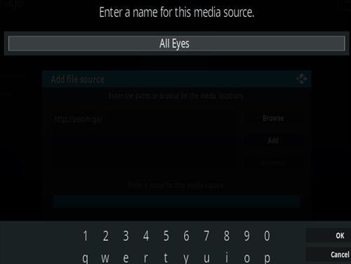 How to Install All Eyez on Me Kodi Addon New URL Step 6