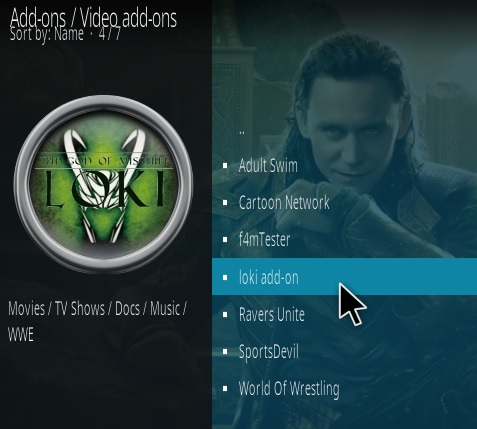How to Install Loki Kodi Addon 2019 step 17