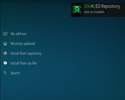 How To Install 4QED Kodi Addon Step 13