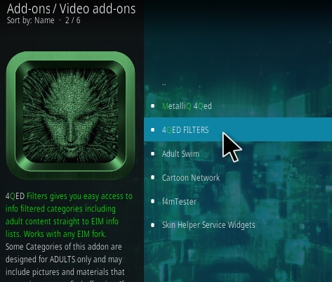 How To Install 4QED Kodi Addon Step 18