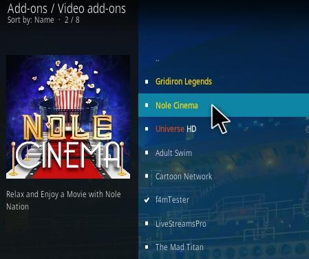 How To Install Nole Cinema Kodi Addon Updated Step 17