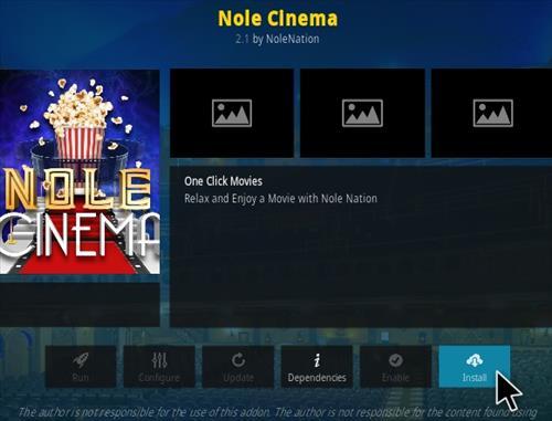 How To Install Nole Cinema Kodi Addon Updated Step 18