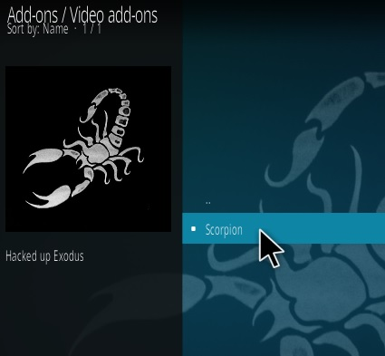 How To Install Scorpion Kodi Addon Step 17