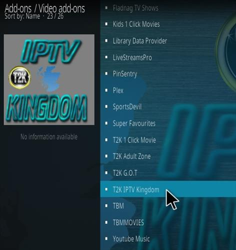 How To Install T2K IPTV Kingdom Kodi Addon | WirelesSHack