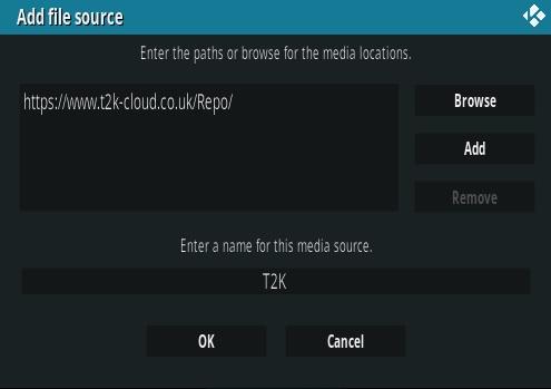 How To Install T2K IPTV Kingdom Kodi Addon New URL Step 7