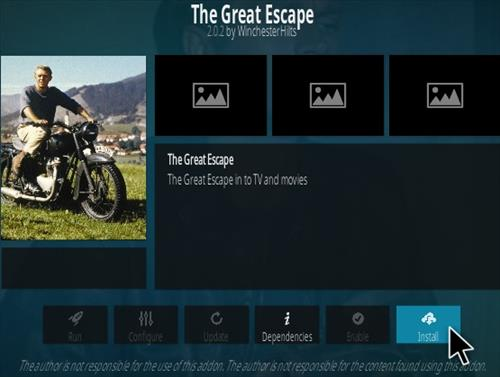 How To Install The Great Escape Kodi Addon Step 18