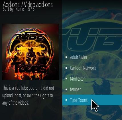 How To Install Tube Toons Kodi Addon Step 17
